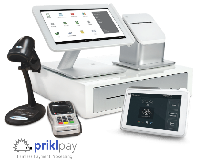 Prikl Pay Clover POS Home